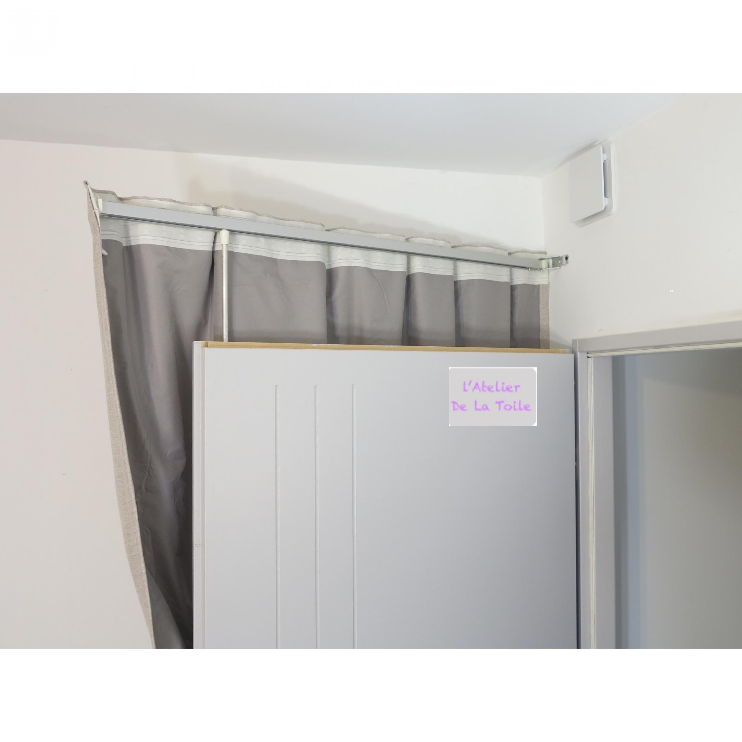 tringle de porte pivotante pivorail pour porte en. Black Bedroom Furniture Sets. Home Design Ideas