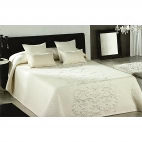 couvre lit piano cru pour lit de 140 cm l 39 atelier de la toile. Black Bedroom Furniture Sets. Home Design Ideas