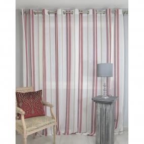 voilage pr t poser anglet borbeaux 300 x 260 cm l 39 atelier de la toile. Black Bedroom Furniture Sets. Home Design Ideas