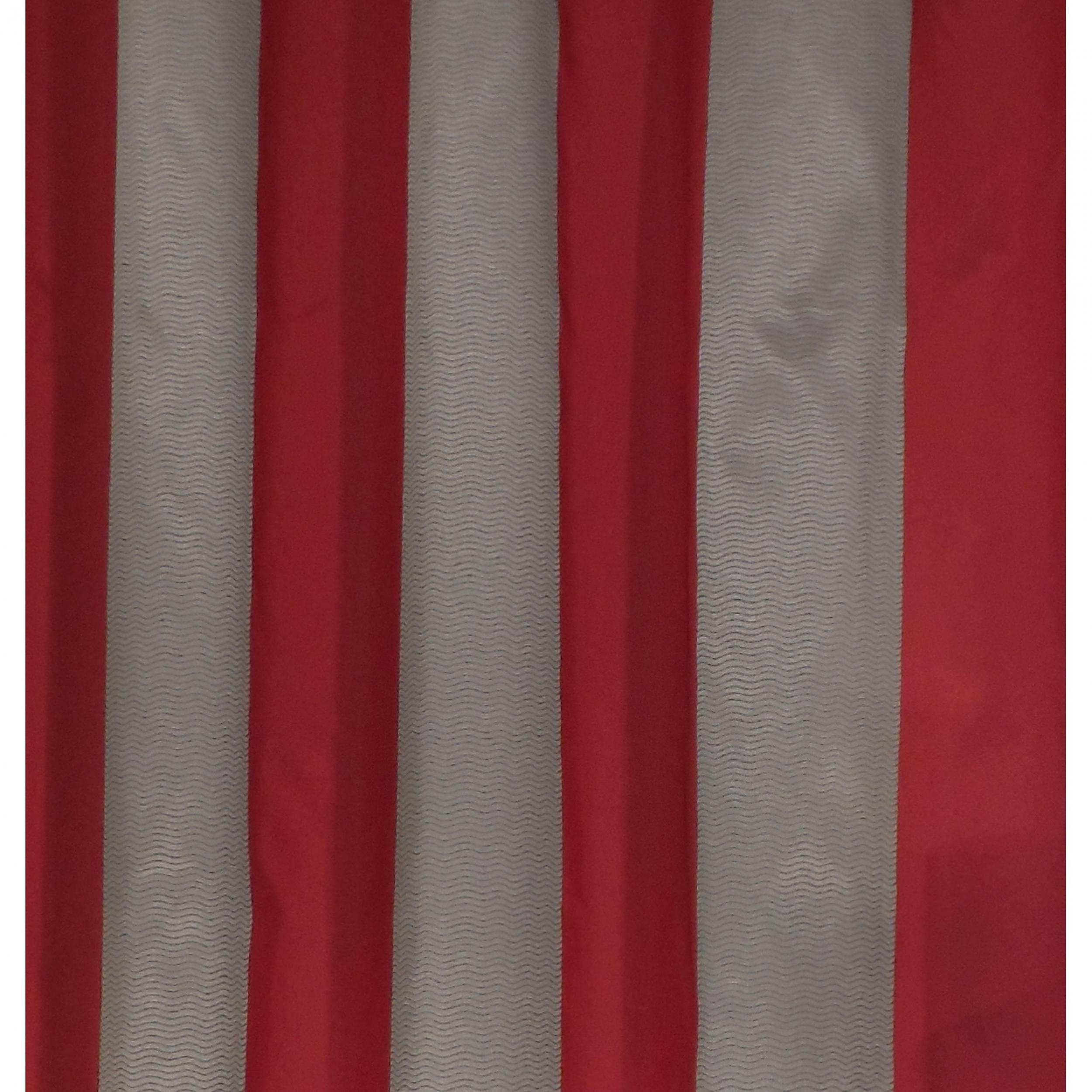 rideaux rouge gris. Black Bedroom Furniture Sets. Home Design Ideas