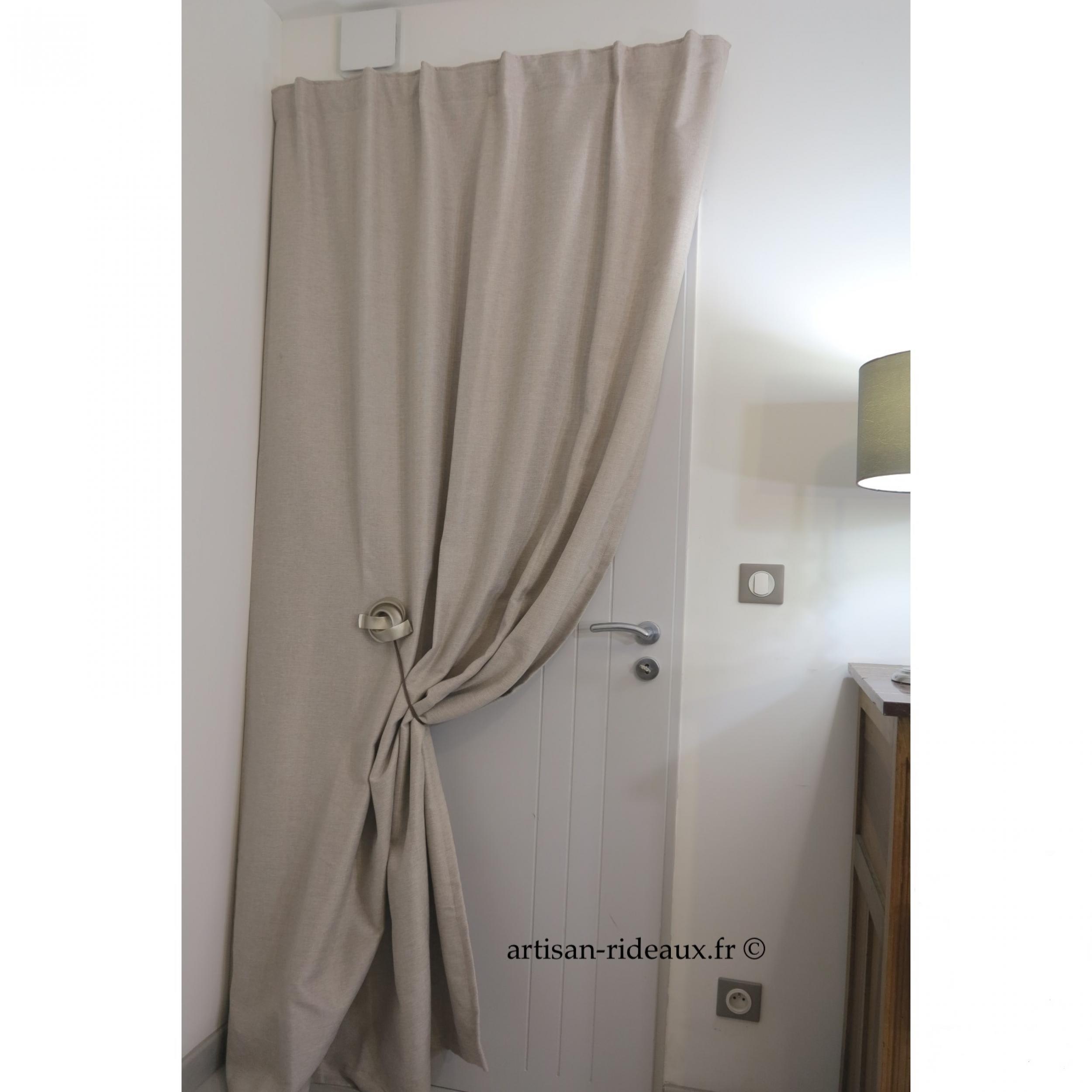 tringle de porte pivotante pivorail pour porte en affleurement l 39 atelier de la toile. Black Bedroom Furniture Sets. Home Design Ideas